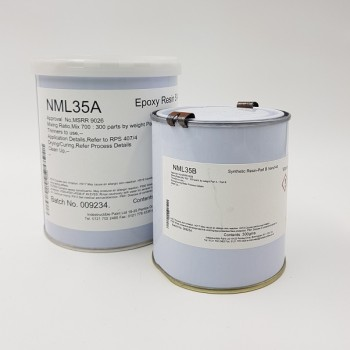 NML35 Part A & B  2 Part Low Temperature Curing Epoxy Sealant and Adhesive